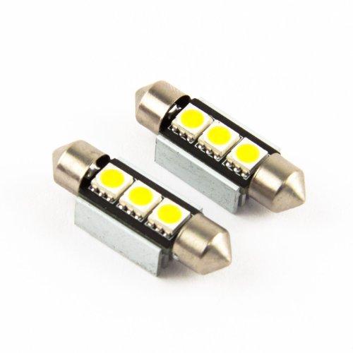 M.Tech 2 x 36mm C5W 3 SMD / LED Soffitte CanBus Kennzeichenbeleuchtung, gebraucht gebraucht kaufen  Wird an jeden Ort in Deutschland