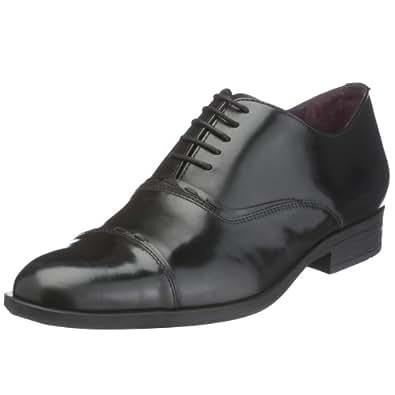 Hush Puppies  Jubilee, Chaussures homme - Cuir noir, 42.5