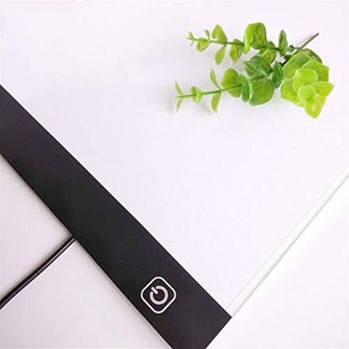 Ybqy A4 / A3 LED dimmbares Licht Diamant Malwerkzeuge Tablet Pad USB Plug-Diamant-Stickerei-Zubehör-Kreuz-Stich-Werkzeug (Color : A4 Ke Tiao Guang) -