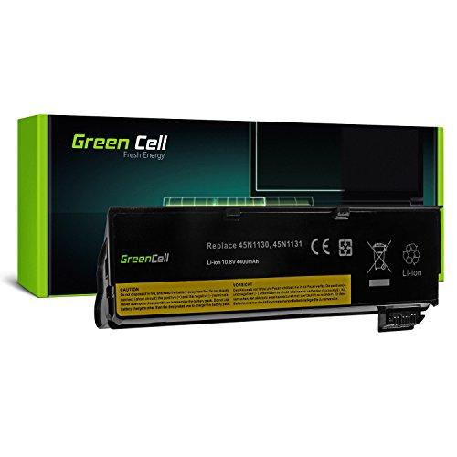 Green Cell® Extended Série 45N1128 Batterie pour Lenovo ThinkPad T440 T440s T450 T450s X240 X240s Ordinateur PC Portable (6 Cellules 4400mAh 10.8V Noir)