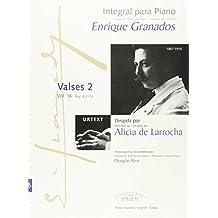 Integral para piano Enrique Granados: Valses 2: 16
