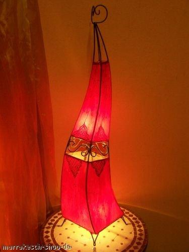 Orient Stehlampe Marrakesch Rot 120cm