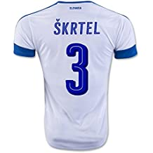 2016 2017 Slowakei 3 Martin Skrtel Home Football Jersey in Weiß
