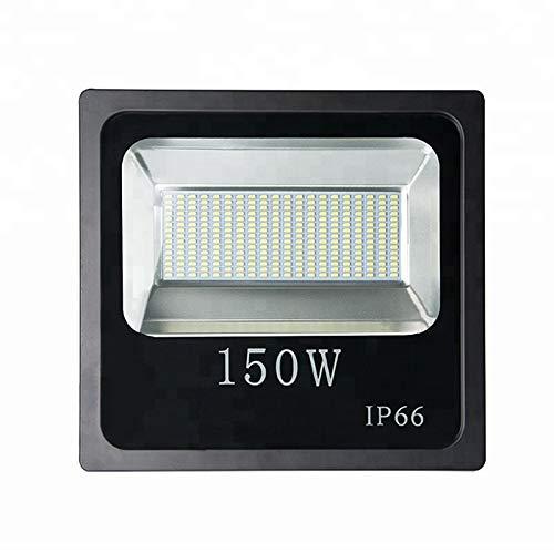 FGKING 150W LED luz de inundación, al Aire Libre Impermeable IP66 Super...