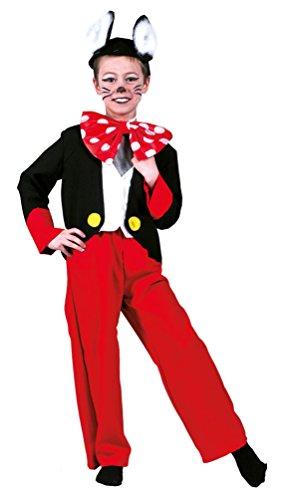 (,Karneval Klamotten' Kostüm Mickey Maus Kostüm Junge Karneval Comics Kinderkostüm Größe 116)