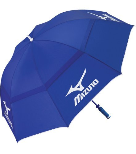 Mizuno Tour Double Canopy Golf Umbrella - Blue