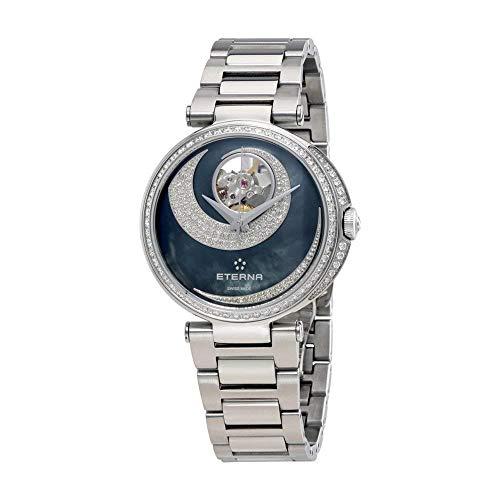 Eterna Women's 34mm Steel Bracelet & Case Automatic Watch 2943-58-89-1729