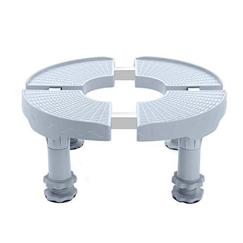 SH-lingbujian Runde Appliance Base Stand Universal multifunktionale einstellbar versenkbar für Kühlschrank Waschmaschine Stent Edelstahl (größe : Height 18-21CM) -