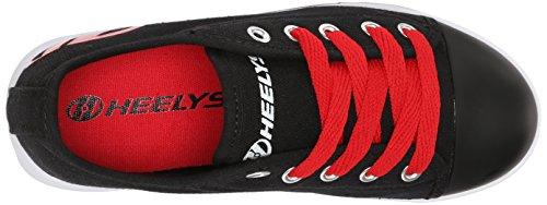Heelys Fresh, Sneaker a Collo Basso Bambino (Black/Red (Black/Red))