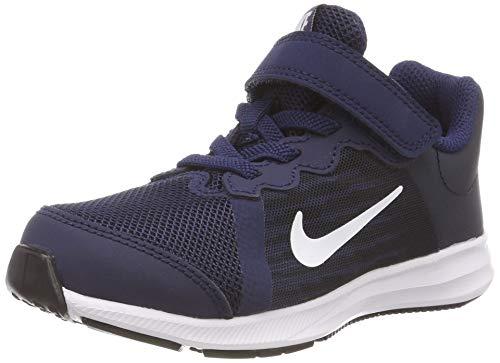 Nike - 922854 - Chaussures de Sport - Garçon - Bleu (Midnight Navy/White/Dark Obsidian/Black 400) - 30 EU