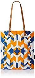 Kanvas Katha Women's Tote Bag (Multicolor) (KKST/AMZ/SS16/001W)