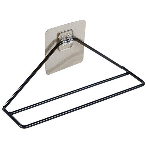OUNONA 2 stücke Wand Schuhputzmaschine Peel und Stick Organizer Damage Free Installation für Badezimmer Dusche Zimmer Hängen Schuh Veranstalter (Peel Zimmer)