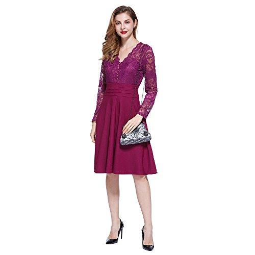 H:oter® Collection Damen Handgemachte Perle Handtasche, Abendtasche Damen Clutch Für Party, Hochzeit Y-Grau