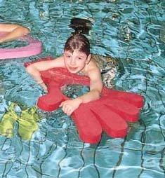 Neuf enfants Fun Forme piscine Aide à l'Excitation de natation pour les enfants Aqua jouer à la main radeau
