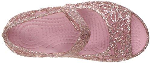 crocs Mädchen Isbelagltrfltps Durchgängies Plateau Ballerinas Pink (Blossom)