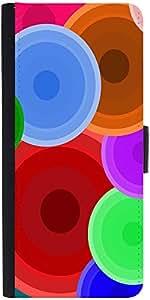Snoogg Digi Bubbles 2387 Designer Protective Flip Case Cover For Samsung Gala...