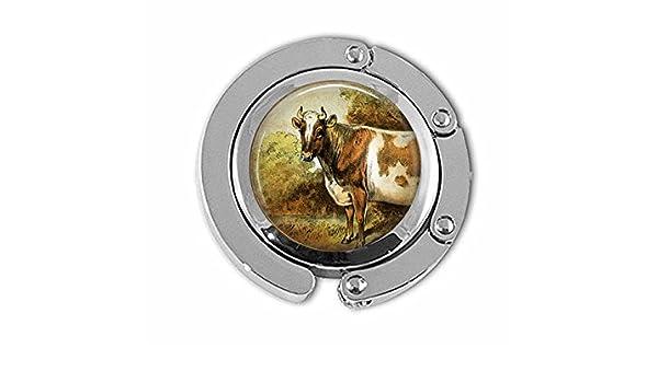 /Bijoux de Veau /Animaux de la Ferme/ BAB Vache Cintre/ /Ferme/ /Bijoux Marron Vache Cintre/ /Vintage Vache Aquarelle/ /Bijoux Vache Cintre/