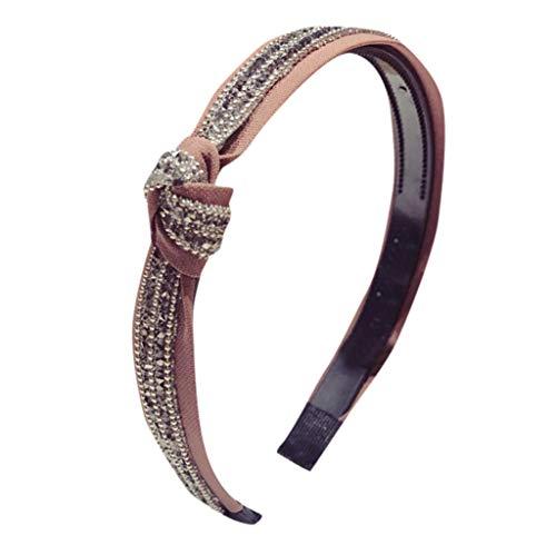 Scrolor Schöne Haarbänder für Chariming Damen Luxus Hearbands stoff Haarband mode haarband zubehör Haarschmuck Perlen Dekoration (Mehrfarbig C,free)