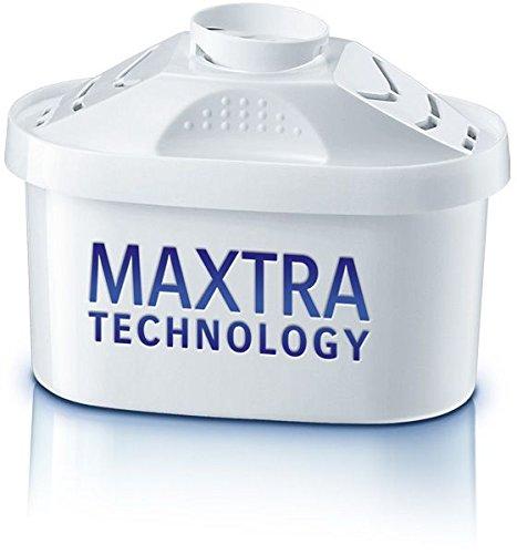BRITA, Carafe Filtrante, Marella, 2.4L, 6 Cartouches Filtrantes Maxtra incluses - Blanc