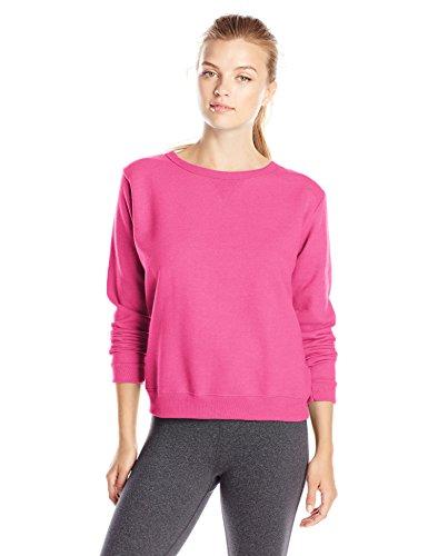 Hanes - T-shirt de sport - Manches Longues - Femme Sizzling Pink