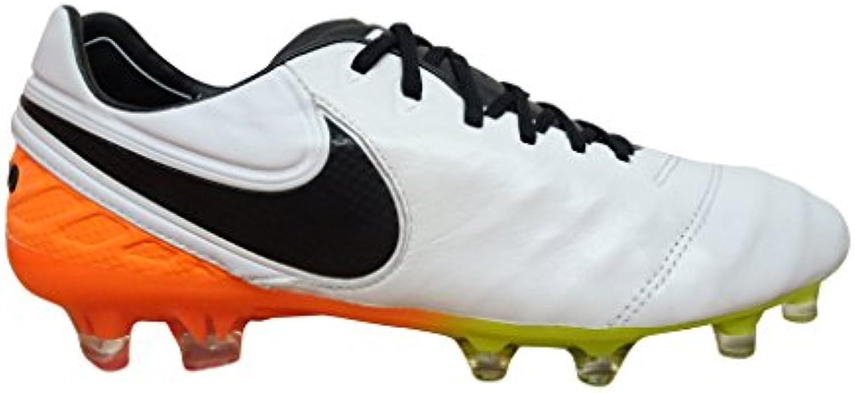 Nike   Herren Fußballschuhe Purple   Violett violett/orange 580 44 EU