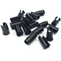 10x U-clip Bike Brake Derailleur Shifter Cable Housing Nipples Ferrule End Caps by Happybuying88