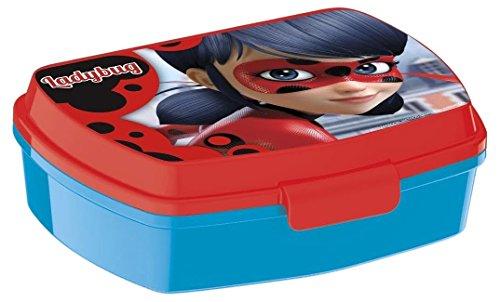 Joy Toy 786974 Miraculous Jausenbox, bunt, 15x10x5 cm