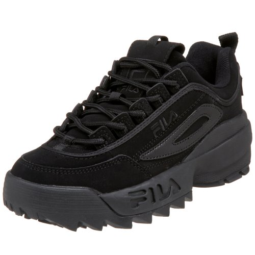 Fila Little Kid/Big Kid Disruptor II Sneaker,Triple Black,3.5 M US Big Kid