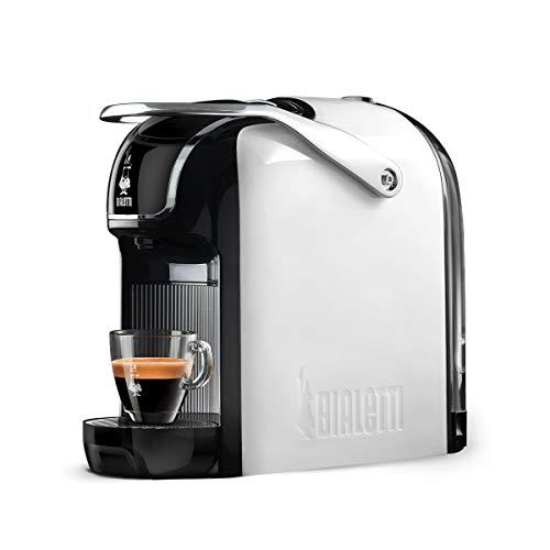 Bialetti Macchina Caffè Espresso Break (super compatta) per Capsule in Alluminio sistema Bialetti il Caffè d'Italia, White