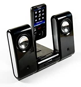 E-volve MP3 Vibe-Dock Home portable speaker system compatible with (Philips GoGear Vibe / Mix / RAGA / Opus / Spark / SA3025 / SA3200 / SA3300 / Ariaz / Muse / CAM / SA3125 / SA3115 / SA6015 / SA6025 / SA6045 / SA6085 / SA6185 / SA6145 / SA6125 / SA5285 /