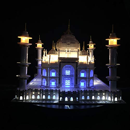 AMITas LED Beleuchtung, LED Licht Kit Baustein Spielzeug LED Für Lego 10256 Taj Mahal (Modell Nicht Enthalten) Nicht Lego Herstellung