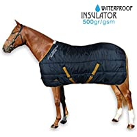 Horses Coperta Piumino Waterproof Insulator 500gr BLU 145 cm