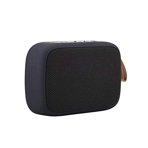 jgashf Music Box Altavoz con Bluetooth Surround y Display Estéreo Portátil Potencia...