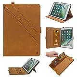 LEMOUTON YZ-163-FR YZ-163-FR Tablet-Schutzhülle, iPad 9.7 (2017&2018) iPad Air 2, Hellbraun