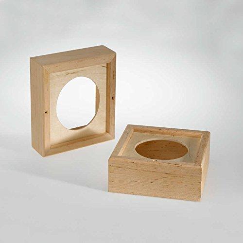 Infraworld Holzrahmen für Sauna-Lautsprecher