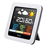 Oregon Scientific RAR502SX Stazione Meteo Multizona con Display a Colori, Grigio