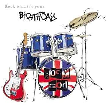 Rock God Birthday Greeting Card Just Josh Range Cards For Him