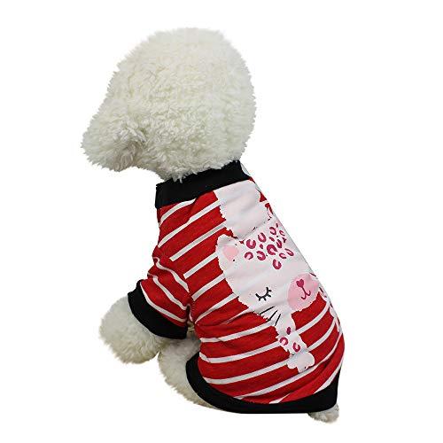 Koojawind Haustier-Kurze HüLsen, Nette Haustier-Hundet-Shirts Kleidung Kleiner Welpen-KostüM, BeiläUfiges Einzigartiges Design Mit Krawatten-Kleidung Schlanke Attraktive Prinzessin Weste FüR - Paare Nette Kostüm