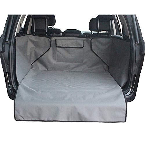 HCMAX Cane Veicolo Protezione Bagagliaio Auto Copertura per Sedile Cani Animale Domestico Coprisedile Stuoia Antiscivolo Impermeabile Universale per Camion Jeep Furgo
