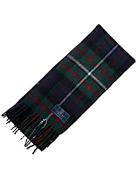 100% Lambswool Ferguson Modern Tartan Scarf & Gift Wrap - Made in Scotland by Lochcarron