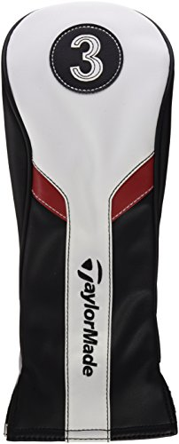 taylormade-fairway-headcovers-black-white-red-taglia-unica