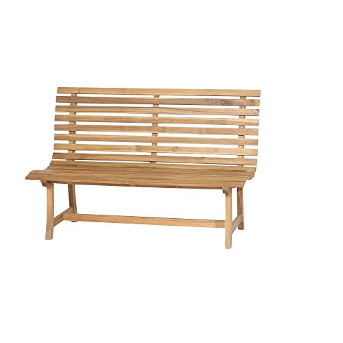 Siena Garden 2er Bank Santana, 67,5x140x92,5cm, Akazienholz, geölt in natur, FSC 100%