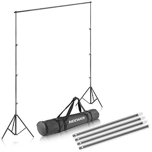 Neewer® Hintergrundsystem 2,6x3m mit Tragetasche
