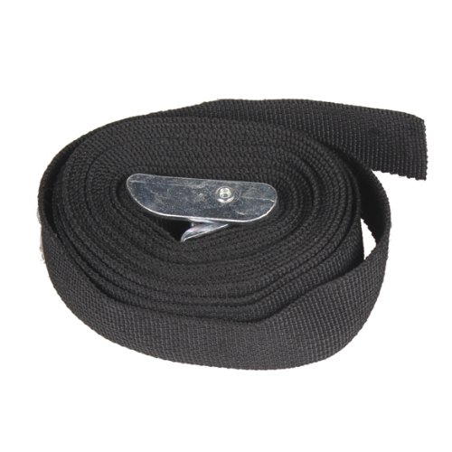 tenflyer-3m-black-nylon-cargo-tie-down-luggage-lash-belt-strap-with-metal-cam-buckle