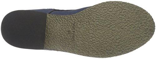 Jonny´s Vegan Damen Dagrun Combat Boots, Blau (Marino 1), 42 EU - 3