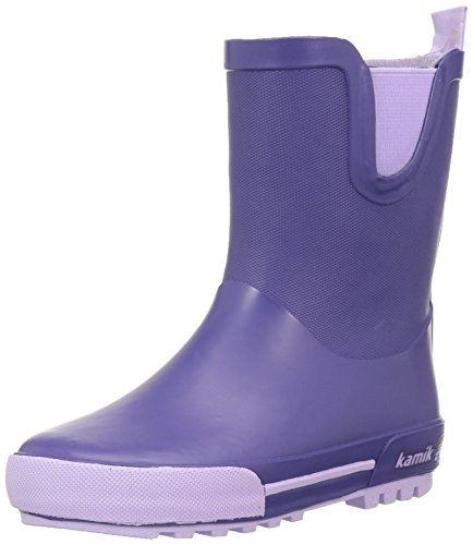 Kamik Unisex Kids' Rainplay Wellington Boots, Blue