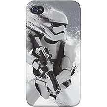 Funda carcasa Star Wars El despertar de la fuerza para Iphone 4 4S 5 5S 6 6S 6plus 7 7plus plástico rígido