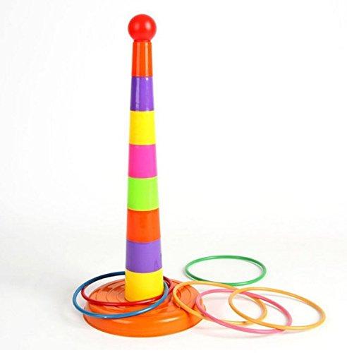 Ring Toss Spiel Set Outdoor Indoor Spiele Kunststoff Toss Spiel Sport Spielzeug Erwachsene Kinder Beste Geschenke
