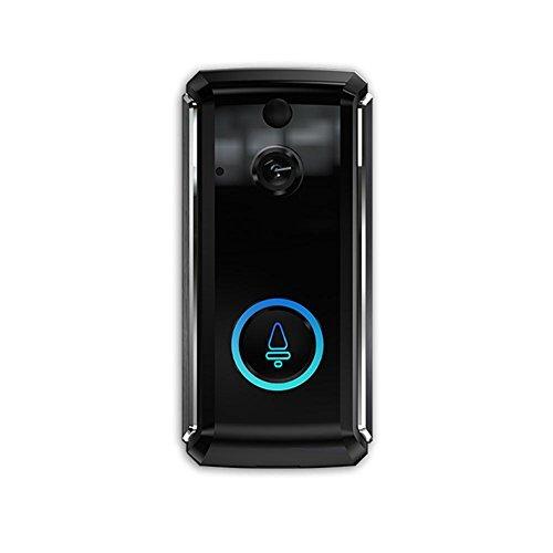 Sonnette vidéo SMART -enregistrement haute définition 720P - vision nocturne - compatible Android Ios