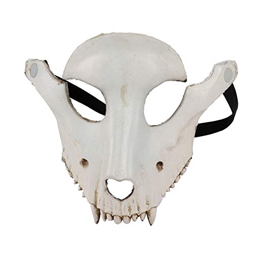 Kostüm Schaf Gesicht - Halloween Maske Ziege Schädel Form Maske Cosplay Maskerade Festival Party Karneval Schaf Schädel Gesichtsmaske